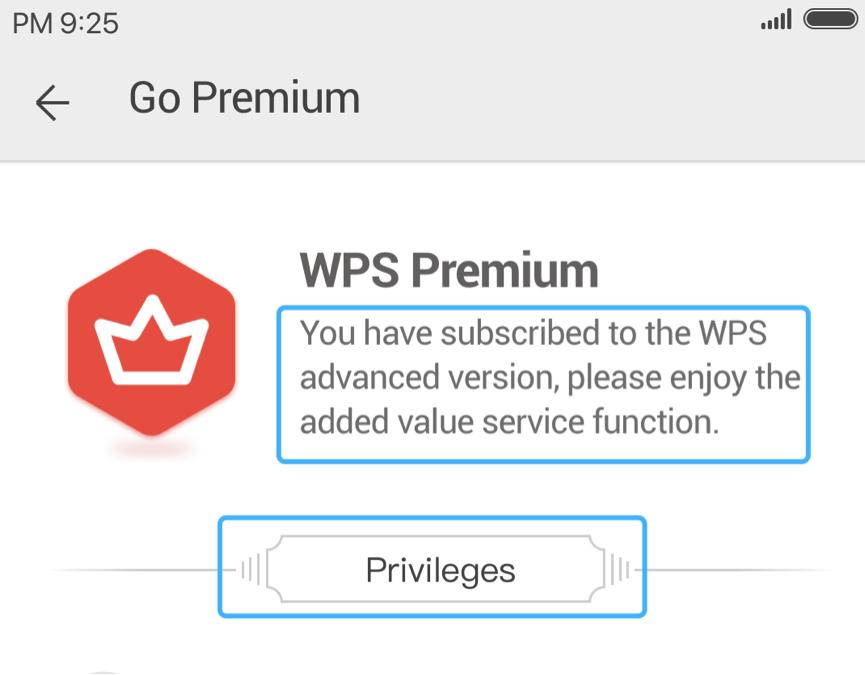 Payment Premium