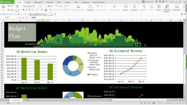 Using the power of Pivot Tables in WPS Office 2016